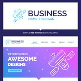 Beautiful Business Concept Brand Name Broadcast, broadcasting, r stock illustration
