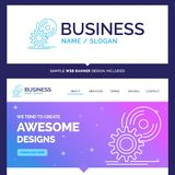 Beautiful Business Concept Brand Name cd, disc, install, softwar royalty free illustration