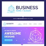 Beautiful Business Concept Brand Name 3d, change, correction, mo vector illustration