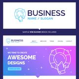 Beautiful Business Concept Brand Name emergency, guard, help, in stock illustration