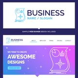 Beautiful Business Concept Brand Name Estimation, love, relation royalty free illustration