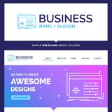 Beautiful Business Concept Brand Name File, object, processing stock illustration