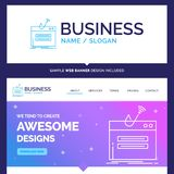 Beautiful Business Concept Brand Name fraud, internet, login, pa stock illustration