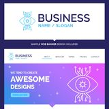 Beautiful Business Concept Brand Name Infrastructure, monitoring stock illustration