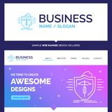Beautiful Business Concept Brand Name insurance, health, medical vector illustration