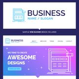 Beautiful Business Concept Brand Name Internet, page, web, webpa vector illustration