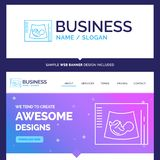 Beautiful Business Concept Brand Name Maternity, pregnancy, sono royalty free illustration