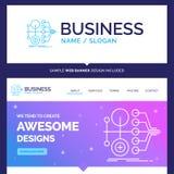 Beautiful Business Concept Brand Name monetization, finance, mon royalty free illustration
