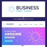 Beautiful Business Concept Brand Name sun, space, planet, astron vector illustration