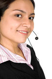 Beautiful business customer service woman Stock Photos