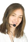 Beautiful business customer services rep Stock Images