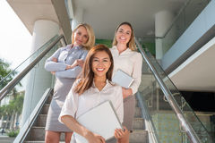 Beautiful business executives Stock Photography