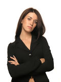 Beautiful business girl portrait Royalty Free Stock Photography