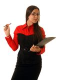 Beautiful business lady Stock Photo