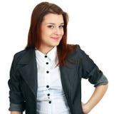 Beautiful business lady Stock Image