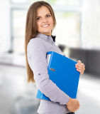 Beautiful business lady Royalty Free Stock Image