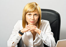 Beautiful Business Lady Royalty Free Stock Photo