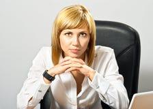 Beautiful Business Lady Royalty Free Stock Photo