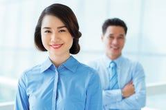 Beautiful business lady Stock Photo