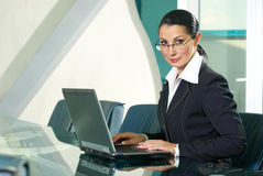 Beautiful business woman Stock Photos