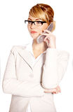 Beautiful business woman Royalty Free Stock Photos