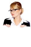Beautiful business woman Stock Image