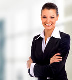 Beautiful business woman. Business woman beautiful beauty black boss stock photo