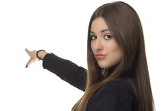 Beautiful business woman Stock Photography