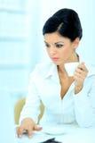 Beautiful business woman Royalty Free Stock Photo