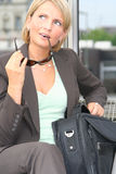 beautiful business woman Στοκ φωτογραφία με δικαίωμα ελεύθερης χρήσης