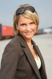 beautiful business woman Στοκ Εικόνα