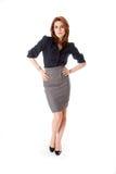 Beautiful business woman Royalty Free Stock Photos