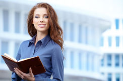 Beautiful business woman Royalty Free Stock Image
