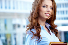 Beautiful business woman Royalty Free Stock Images