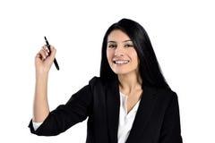 Beautiful business woman Stock Photos