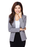 Beautiful Business woman confident smile Royalty Free Stock Photography