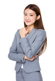 Beautiful Business woman confident smile Royalty Free Stock Image