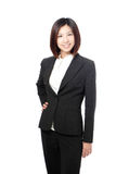 Beautiful Business woman confident smile portrait Stock Photos