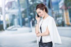 Beautiful business woman doing portrait Stock Photo