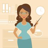 Beautiful business woman Royalty Free Stock Photography