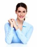 Beautiful business woman. Royalty Free Stock Photo