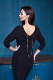 Beautiful business woman lady style perfect body shape Royalty Free Stock Image