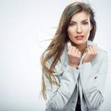 Beautiful business woman portrait. Stock Image