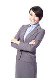 Beautiful business woman smile face Royalty Free Stock Photo