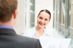 Beautiful business woman Royalty Free Stock Photo