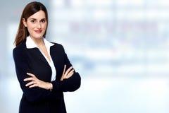 beautiful business woman young Στοκ φωτογραφία με δικαίωμα ελεύθερης χρήσης