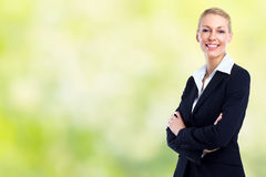 beautiful business woman young Στοκ Εικόνες