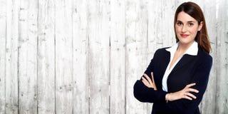 beautiful business woman young Στοκ Φωτογραφία
