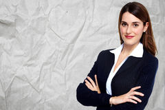 beautiful business woman young Στοκ Εικόνα