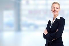beautiful business woman young Στοκ εικόνα με δικαίωμα ελεύθερης χρήσης